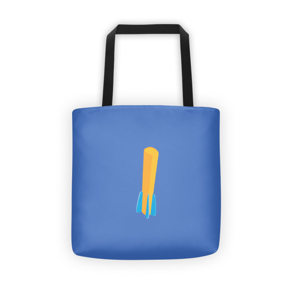 Foam Fun Tote Fin Dart Blue
