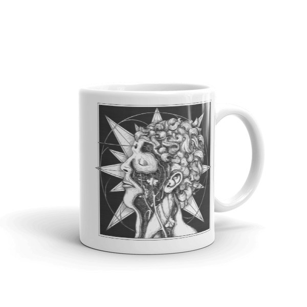 Star Hand and Head Mug