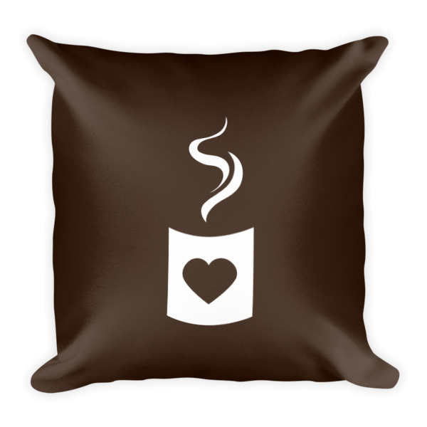 Heart Cup Pillow