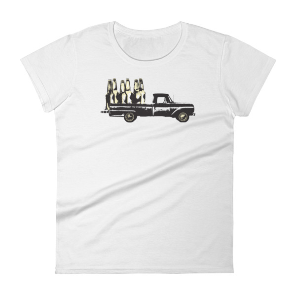 Old Time Hockey Tee Women Blacktop Bar