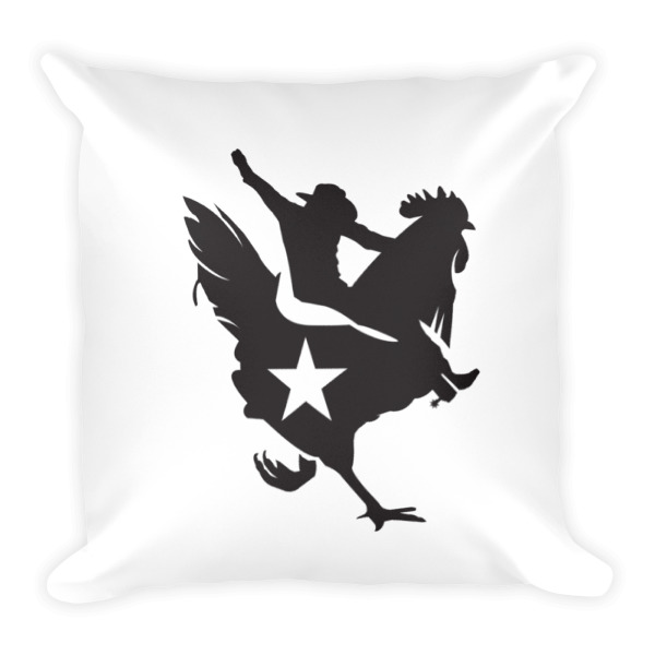 Cowboy Chicken Pillow