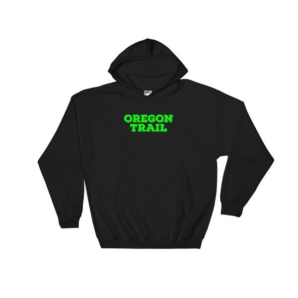 Oregon Trail Hoodie Logo