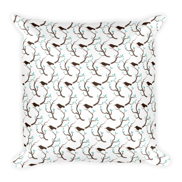 Birds & Branches Pillow
