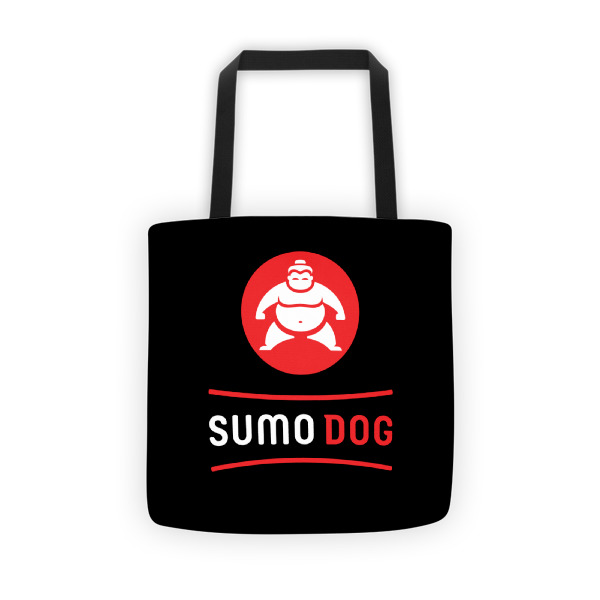Sumo Dog Tote Black
