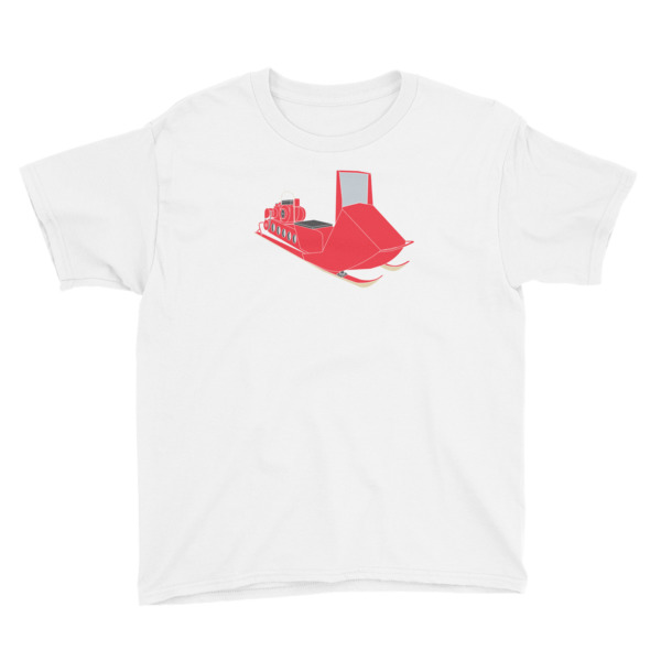 Snow Mobile Tee Youth