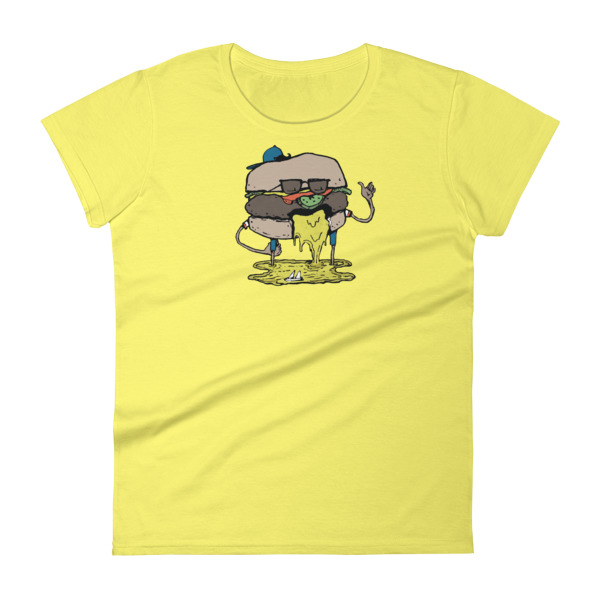 Juicy Lucy Tee Women Burger