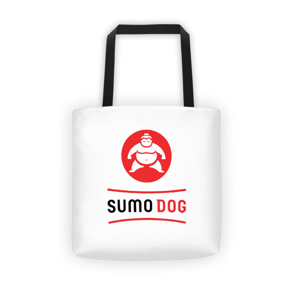 Sumo Dog Tote White