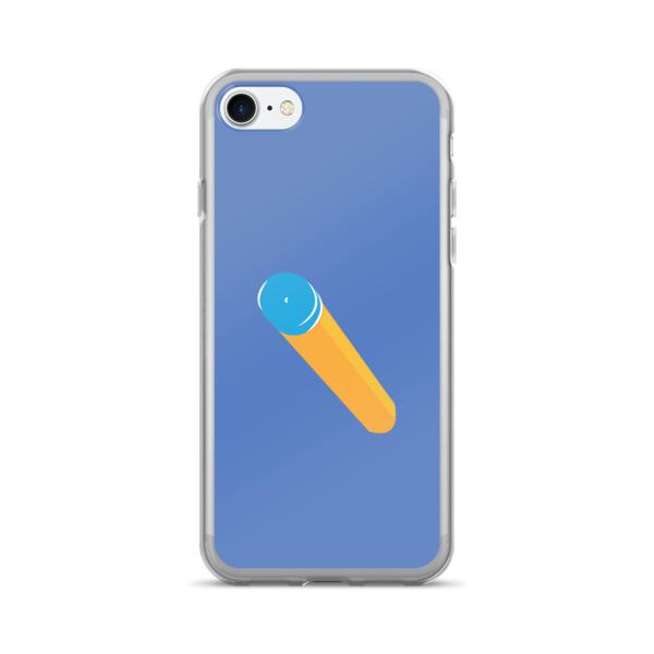 Foam Fun Case 7/7+ Suction Dart Blue