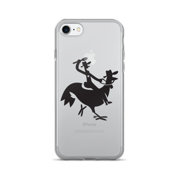 Cartoony Cowboy Chicken Case 7/7+