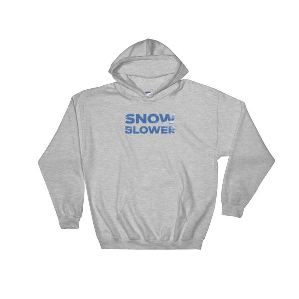 Snowblower Hoodie Wordmark