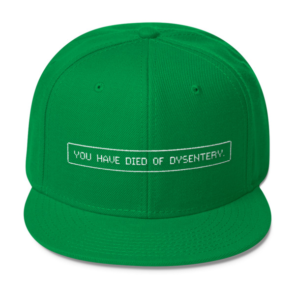 Oregon Trail Hat Dysentery