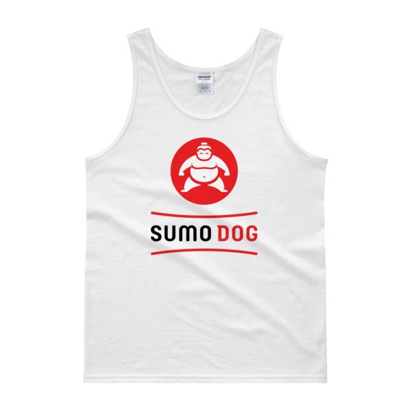 Sumo Dog Tank White