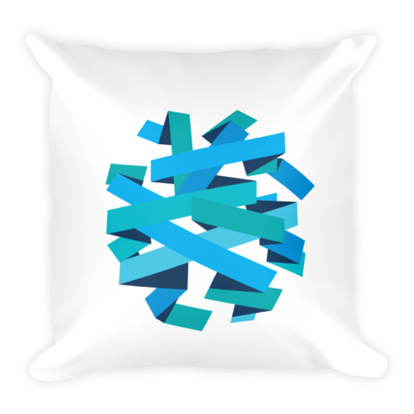 Ribbon Ball Pillow