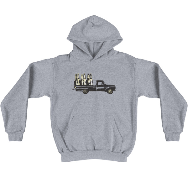 Old Time Hockey Hoodie Blacktop Bar