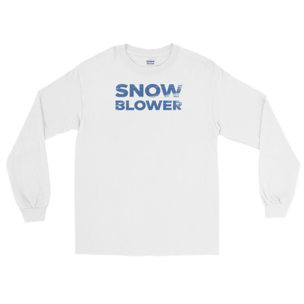 Snowblower Shirt Longsleeve Wordmark
