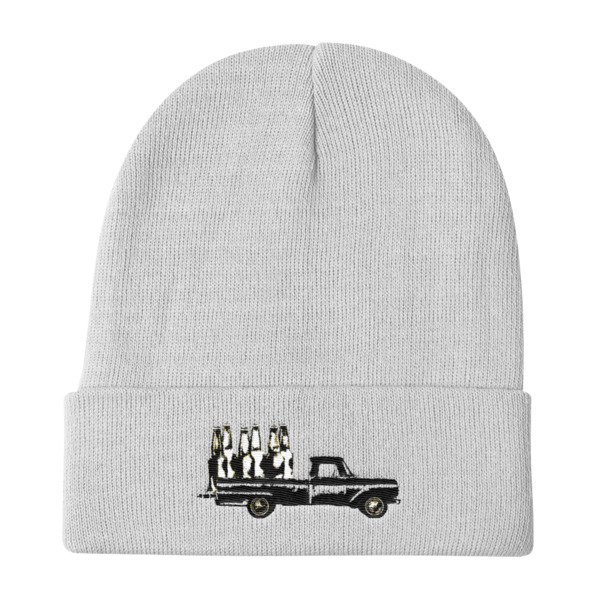 Old Time Hockey Beanie Blacktop Bar