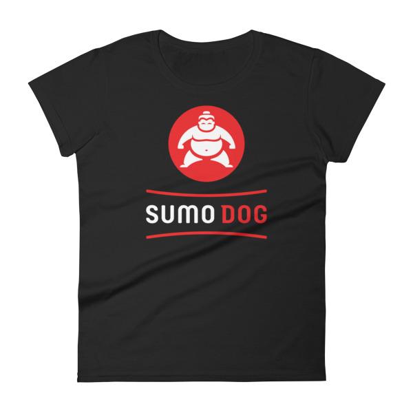 Sumo Dog Tee Women Black