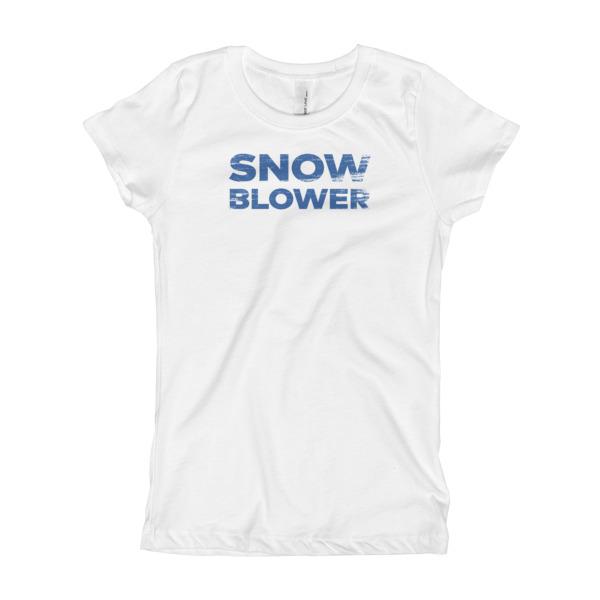 Snowblower Tee Girls