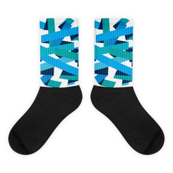 Bold Ribbons Socks