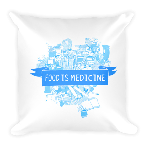 Food is Medicine Pillow
