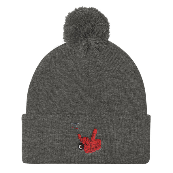 Snowblower Beanie Pom Pom Machine
