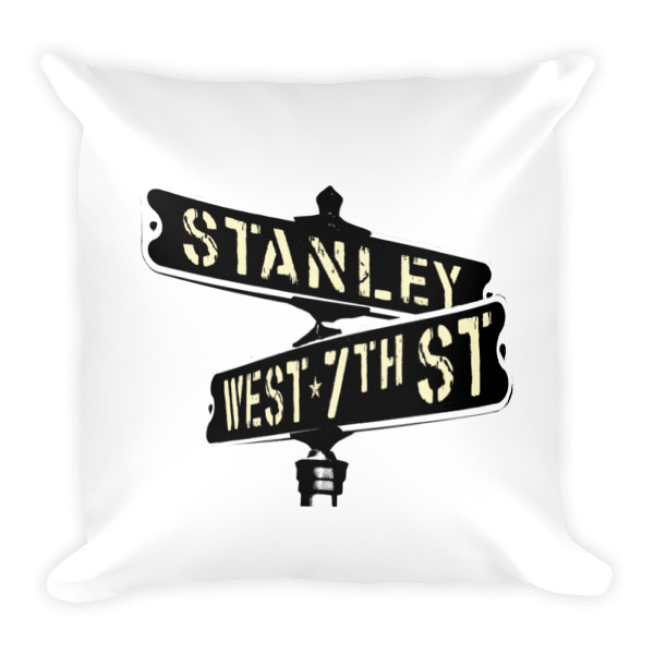 Old Time Hockey Pillow Stanley & 7th