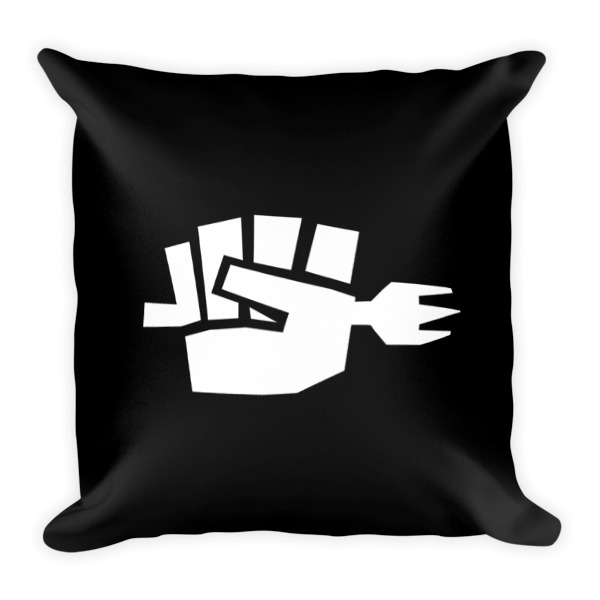 Fork Fist Pillow