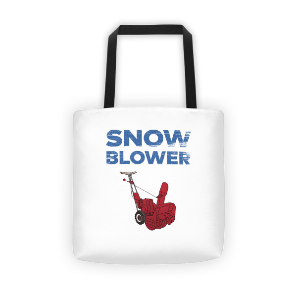 Snowblower Tote Full