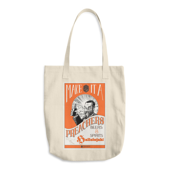 Preachers Tote Canvas