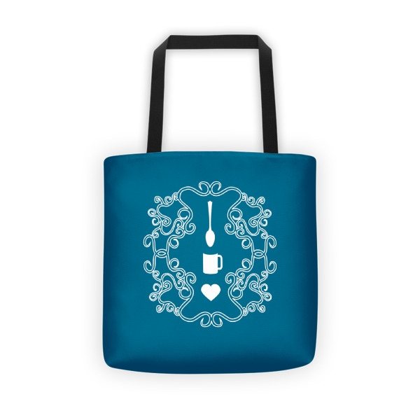 Love Coffee Emblem Tote