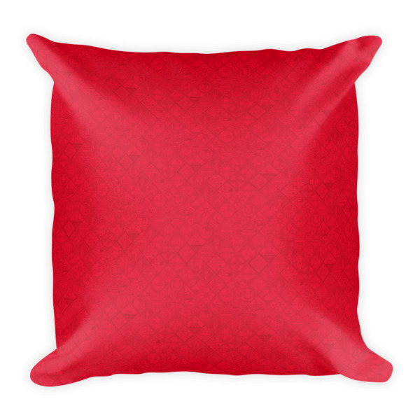 Bandana Subtle Pattern Pillow