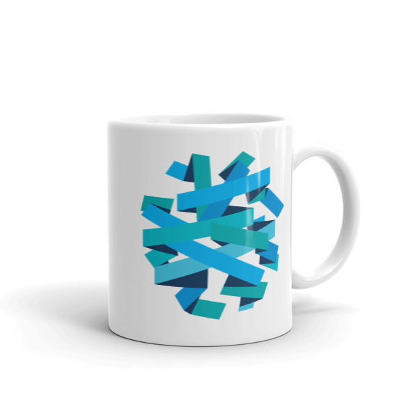 Ribbon Ball Mug