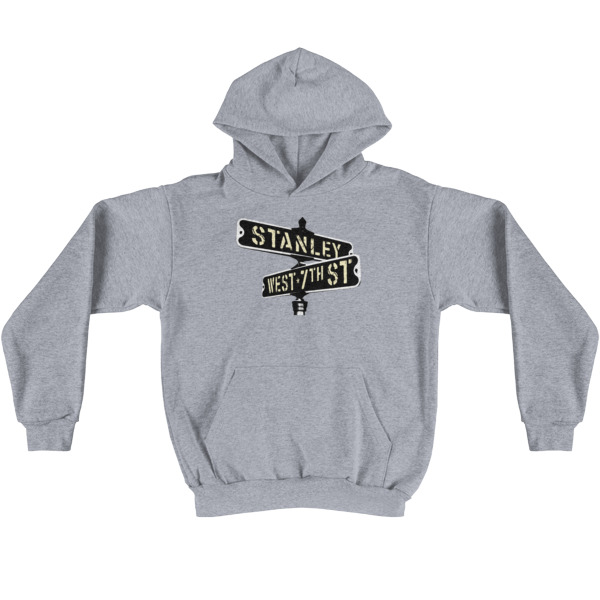 Old Time Hockey Hoodie Stanley & 7th