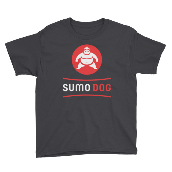 Sumo Dog Tee Youth Black