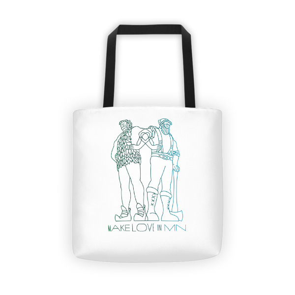 Make Love in MN Tote