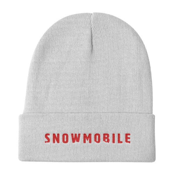 Snow Mobile Beanie