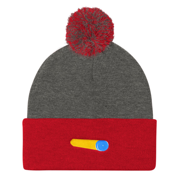 Foam Fun Beanie Pom Pom Suction Dart