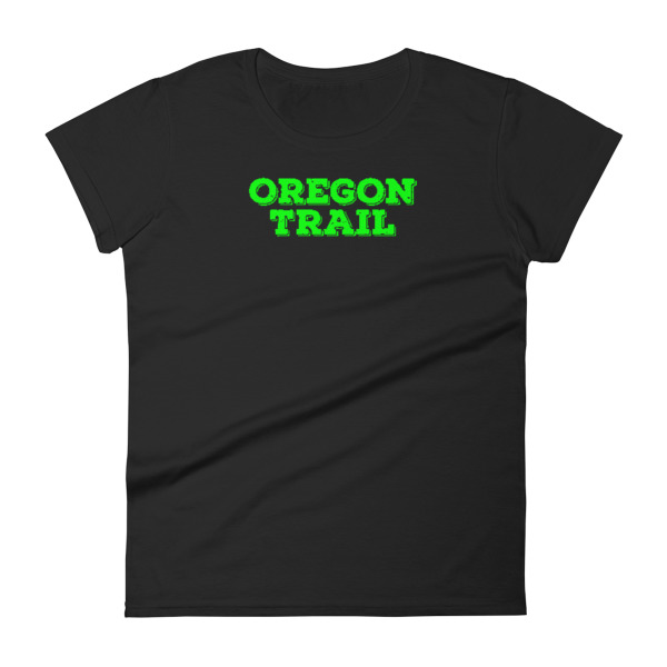 Oregon Trail Tee Women Logo