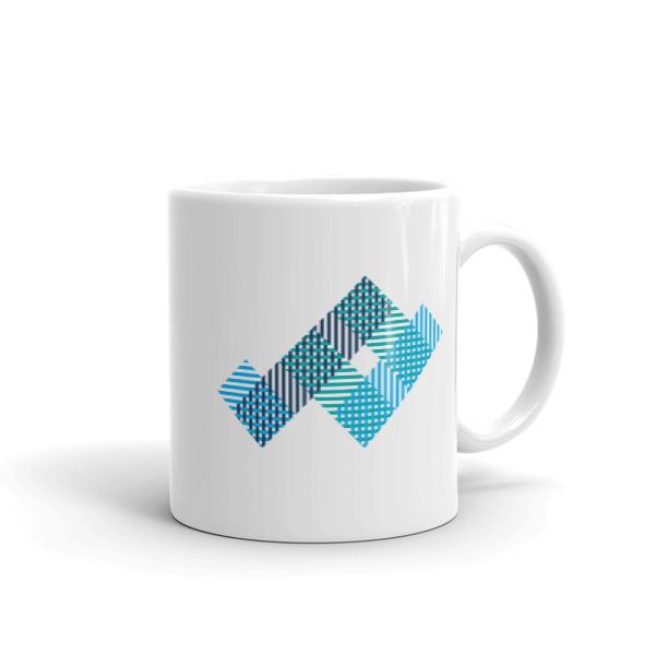 Woven Strips Mug