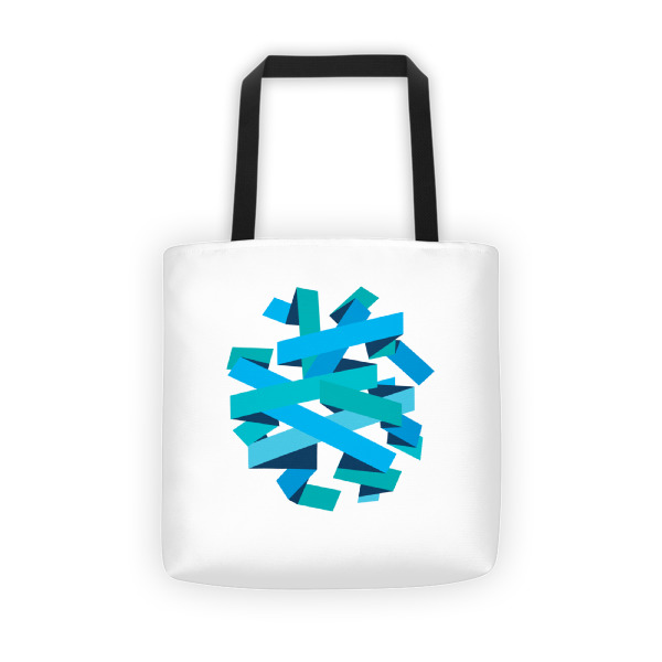 Ribbon Ball Tote