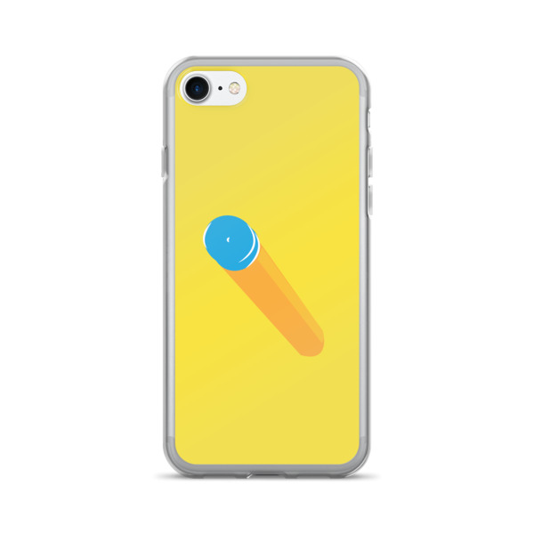Foam Fun Case 7/7+ Suction Dart Yellow