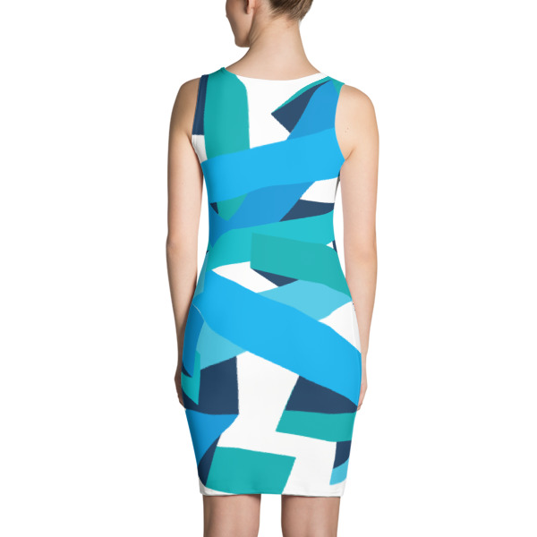 Bold Ribbons Dress