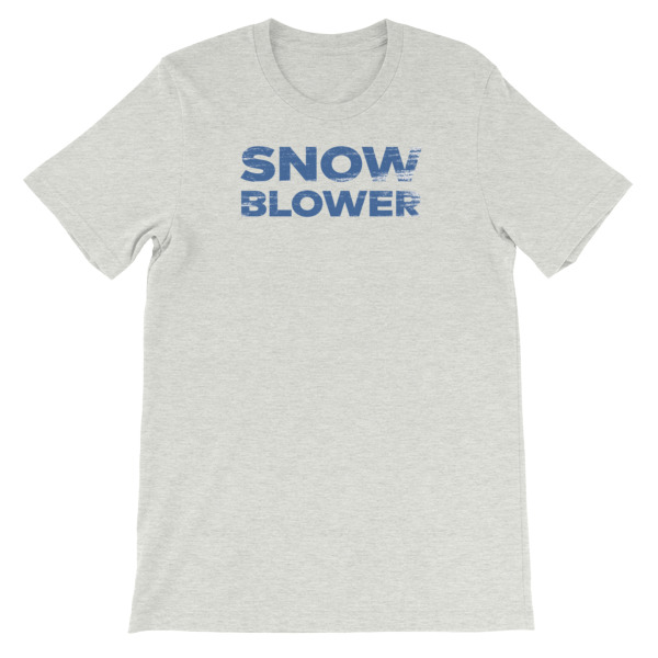 Snowblower Tee Wordmark