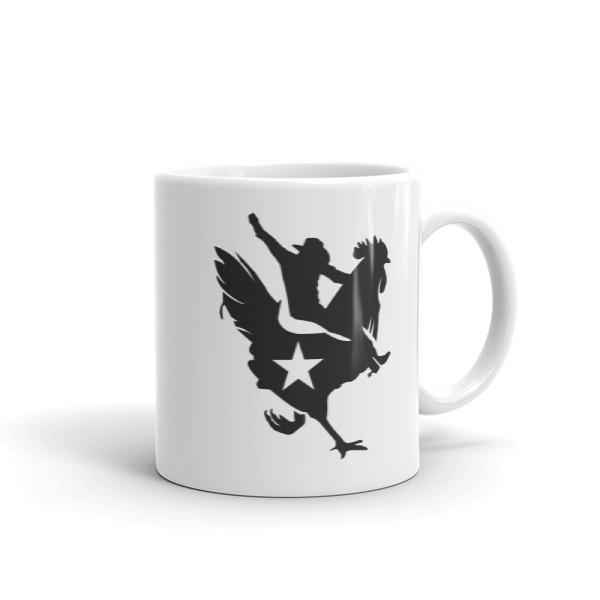 Cowboy Chicken Mug