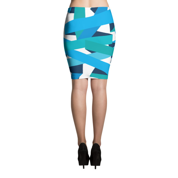 Bold Ribbons Skirt