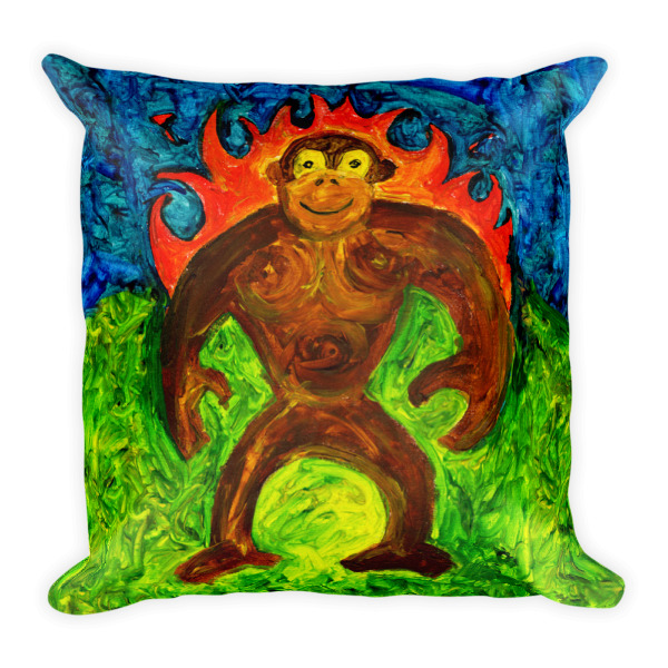 Heat Gorilla Pillow