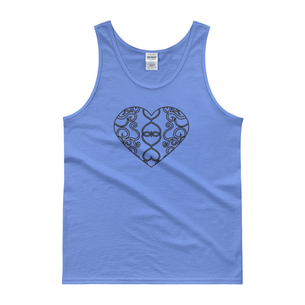 Filigree Heart Tank Light