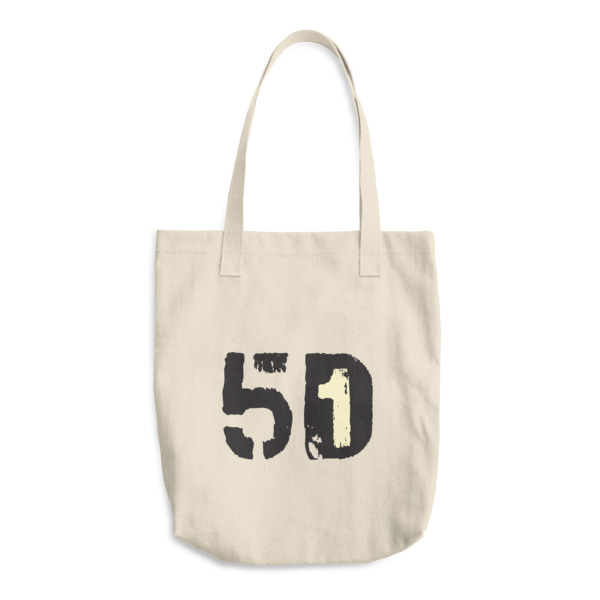 Old Time Hockey Tote 5D1