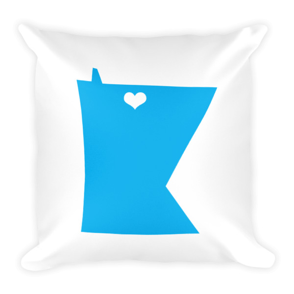 Equal Equals Love Pillow White