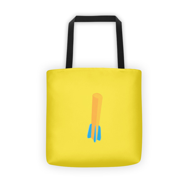 Foam Fun Tote Fin Dart Yellow